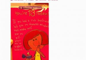 Birthday Card for 13 Year Old Girl Outrage at Hallmark Birthday Card for 13 Year Old Girls