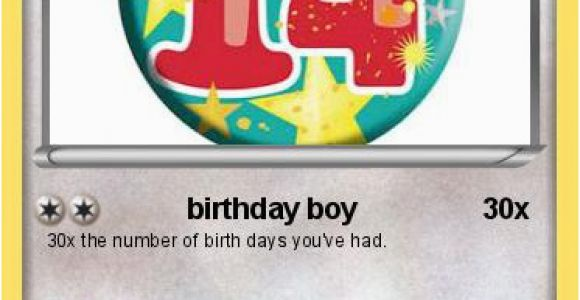 Birthday Card for 14 Year Old Boy Pokemon 14 Year Old Jayden Birthday Boy My Pokemon Card