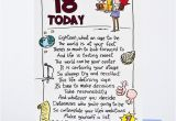 Birthday Card for 18 Year Old Daughter 18th Birthday Card Humprous 18 today Only 89p