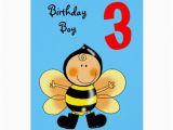 Birthday Card for 3 Year Old Boy 3 Year Old Birthday Boy Greeting Card Zazzle