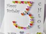 Birthday Card for 3 Year Old Boy 3rd Birthday Card Personalised Custom Age 3 Card 3