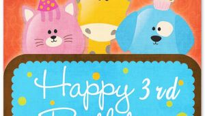 Birthday Card for 3 Year Old Grandson 3rd Birthday Wishes