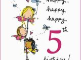 Birthday Card for 5 Year Old Granddaughter Birthday Messages for 5 Years Old Wishesgreeting