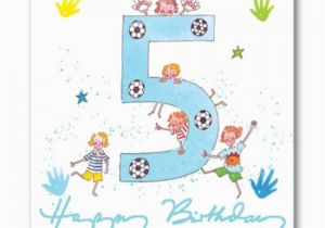 Birthday Card For 5 Year Old Granddaughter Wishes Five Page 4