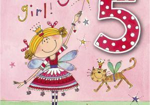 Birthday Card For 5 Year Old Granddaughter Wishes Five Page 6
