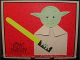 Birthday Card for 6 Year Old Boy A Paper Endeavor Yoda Birthday
