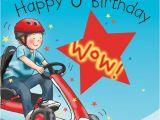 Birthday Card for 6 Year Old Boy Age 6 Birthday Card for Boys Go Cart Tw648