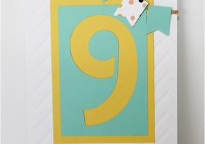 Birthday Card For 9 Year Old Boy Sambreezie Madeit