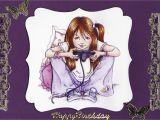 Birthday Card for A Teenage Girl 3d 39 Happy Birthday 39 Teenage Girl Card Tassie Scrapangel