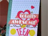Birthday Card for A Teenage Girl Notable Nest Cfs Feature totally Awesome Teen Birthday Card