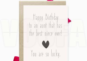 Birthday Card For Aunt Funny Gift Printable