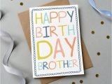 Birthday Card for Brother for Facebook 25 Wonderful Happy Birthday Brother Greetings E Card