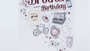 Birthday Card for Brother Images Birthday Card Brother Only 99p