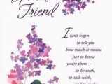 Birthday Card for Close Friend Extraordinary Special Flowers Happy Birthday Cards Further