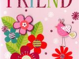 Birthday Card for Close Friend Special Friend Birthday Greeting Card Cards Love Kates