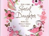 Birthday Card for Daughter Free Download for A Very Special Daughter Birthday Embossed Personalised