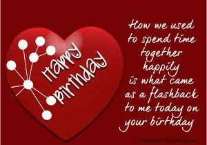 Birthday Card For Ex Girlfriend Wishes Boyfriend 365greetings Com BirthdayBuzz