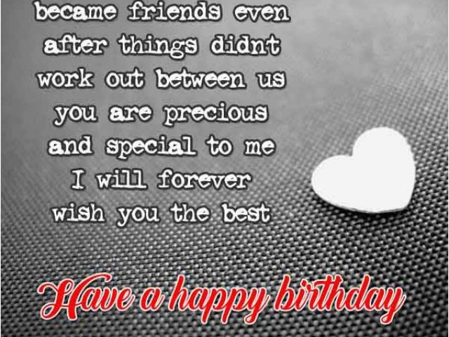 Download By SizeHandphone Tablet Desktop Original Size Back To Birthday Card For Ex Girlfriend
