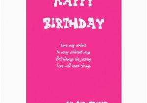 Birthday Card For Ex Girlfriend Cards Zazzle