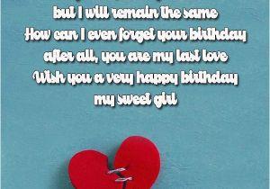 Birthday Card For Ex Girlfriend Birthday Wishes For Girlfriend
