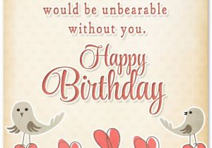 Birthday Card For Fiance Female Sweet Happy Birthday Wishes For