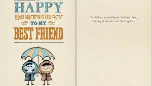 Birthday Card for Guy Friend B 004 Happy Birthday to My Best Friend Bald Guy Greetings