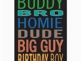 Birthday Card for Guy Friend Birthday Card for Guy Male Man Friend Zazzle Com