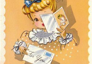 Birthday Card for Mama Happy Birthday to A Dear Mother Vintage Birthday Card