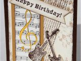 Birthday Card for Musician 17 Best Images About Cards with Music Elements On