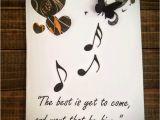 Birthday Card for Musician Diy Music Birthday Card