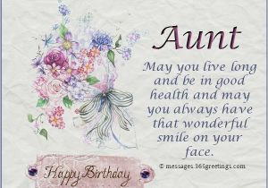 Birthday Card For My Aunt Wishes 365greetings Com