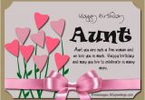 Birthday Card for My Aunt Birthday Wishes for Aunt 365greetings Com