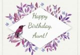 Birthday Card for My Aunt Happy Birthday Wishes for Your Aunt