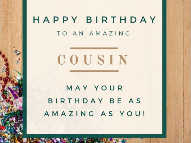 Download By SizeHandphone Tablet Desktop Original Size Back To Birthday Card For My Cousin
