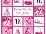 Birthday Card for My Twin Sister Happy Birthday Wishes and Quotes for Your Sister Holidappy