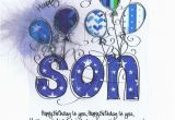 Birthday Card for son From Mother Happy Birthday to My son Pictures Photos and Images for