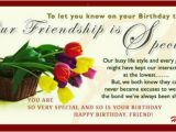 Birthday Card for Special Friend Message Special Friendship Free for Best Friends Ecards Greeting