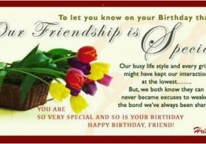 Birthday Card For Special Friend Message Friendship Free Best Friends Ecards Greeting