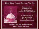Birthday Card for Special Friend Message Special Wish for A Special Friend Free for Best Friends