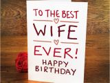 Birthday Card for Spouse Best Wedding Anniversary Wishes for Wife