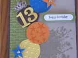 Birthday Card for Teenager Boy Birthday Teen Boy son Grandson Nephew Cousin Friend Handmade