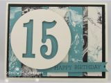 Birthday Card for Teenager Boy Easy Teenage Boy Birthday Card Stamp with Jenn