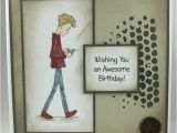 Birthday Card for Teenager Boy Handmade Birthday Card for Teenage Boy Wishin Folksy