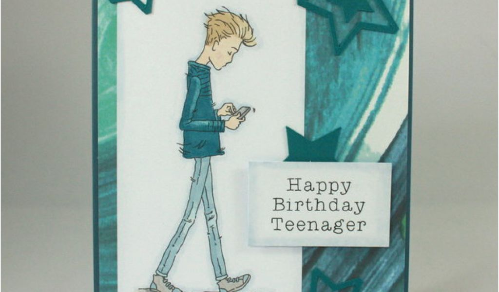 Download By SizeHandphone Tablet Desktop Original Size Back To Birthday Card For Teenager Boy