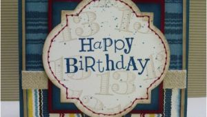 Birthday Card for Teenager Boy Happy Heart Cards Stb 6 Stampin 39 Up Teenage Boy