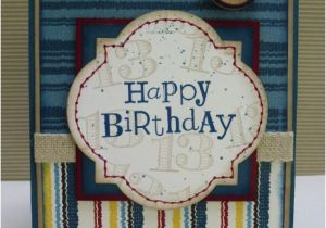 Birthday Card For Teenager Boy Happy Heart Cards Stb 6 Stampin 39 Up Teenage