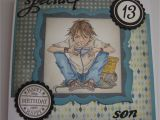 Birthday Card for Teenager Boy Teenage Birthday Wishes sonia 39 S Crafty Patch