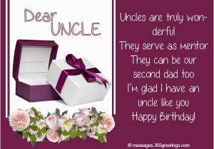 Birthday Card For Uncle From Niece Wishes 365greetings Com
