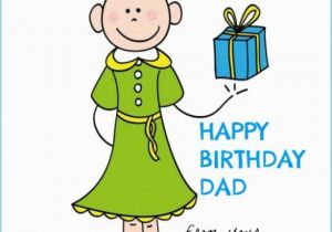 Birthday Card From Daughter To Father Dad Birthday Card A Girl Just