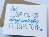 Birthday Card From Daughter to Father Dad Card Dad From Daughter Dad Birthday Card